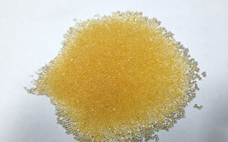 Strong acid cation exchange resin